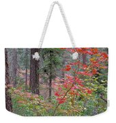 Forest Autumn Weekender Tote Bag