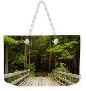 Forest Bridge Weekender Tote Bag
