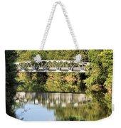 Forest Bridge Weekender Tote Bag by Dan Sproul