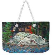 Forest Cottage Weekender Tote Bag