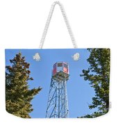 Forest Fire Watch Tower Steel Lookout Structure Weekender Tote Bag