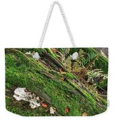 Forest Floor Fungi And Moss Weekender Tote Bag