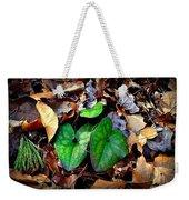 Forest Flora Weekender Tote Bag
