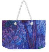 Forest Flower Weekender Tote Bag