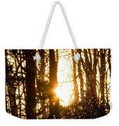 Forest Flurry Lightscape  Weekender Tote Bag