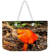 Forest Fungi Flare Weekender Tote Bag