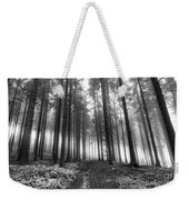 Forest In The Mist Weekender Tote Bag