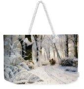Forest In Winter Weekender Tote Bag