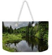 Forest Lake - Quebec - Canada Weekender Tote Bag