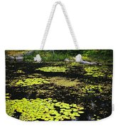 Forest Lake With Lily Pads Weekender Tote Bag