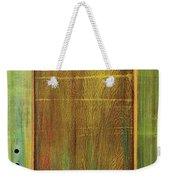 Forest Painted Door Weekender Tote Bag