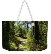 Forest Path In Spokane 2014 Weekender Tote Bag