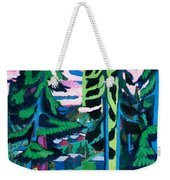 Forest Path In Summer Weekender Tote Bag