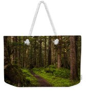 Forest Serenity Path Weekender Tote Bag