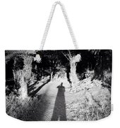 Forest Shadow Weekender Tote Bag by Les Cunliffe