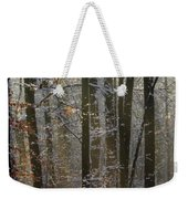 Forest Snowscape Weekender Tote Bag