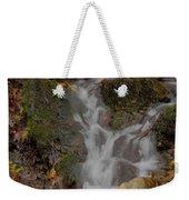 Forest Stream Cascade Weekender Tote Bag