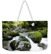 Forest Stream Weekender Tote Bag