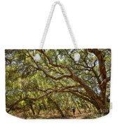 Forest Stroll - The Magical And Mysterious Trees Of The Los Osos Oak Reserve. Weekender Tote Bag