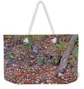 Forest Trickle Weekender Tote Bag