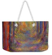 Forest Tunnel Weekender Tote Bag