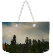 Forest Under The Rainbow Weekender Tote Bag