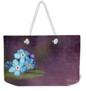 Forget Me Not 02 - S0304bt02b Weekender Tote Bag