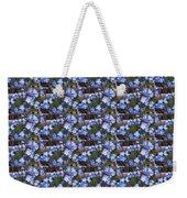 Forget Me Not Flowers Weekender Tote Bag