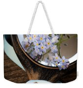 Forget Me Not Weekender Tote Bag