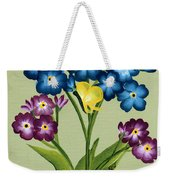 Forget Me Nots And Butterflies Weekender Tote Bag