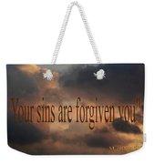 Forgiven Weekender Tote Bag