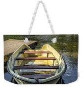 Forgotten Boat Weekender Tote Bag