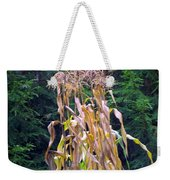 Forgotten Corn Stalks Weekender Tote Bag