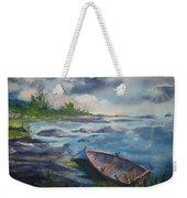 Forgotten Rowboat Weekender Tote Bag