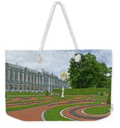 Formal Garden In Front Of The Palace Weekender Tote Bag