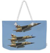 Formation Of Royal Moroccan Air Force Weekender Tote Bag