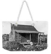Former Slaves At Their Cabin Weekender Tote Bag