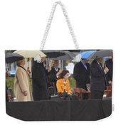 Former Us President Bill Clinton Weekender Tote Bag