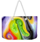 Forms And Colors Weekender Tote Bag by Riad Belhimer