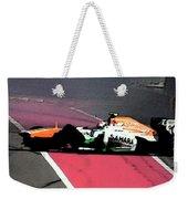 Formula 1 Grand Prix Crash Weekender Tote Bag