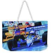 Formula 1 Race Weekender Tote Bag by Hanne Lore Koehler