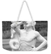 Forsyth Park Fountain - Black And White 1 2x3 Weekender Tote Bag