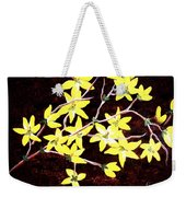 Forsythia Branches Weekender Tote Bag