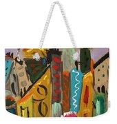 Forsythia Sky Weekender Tote Bag