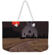 Fort Belmont Sunset Weekender Tote Bag