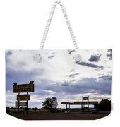 Fort Courage Trading Post Weekender Tote Bag