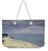 Fort Gratiot Light House Beach Weekender Tote Bag