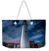 Fort Gratiot Lighthouse From The Water Side Weekender Tote Bag