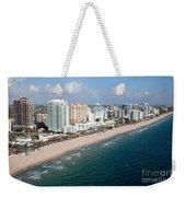 Fort Lauderdale Beach Weekender Tote Bag