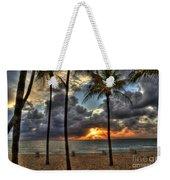 Fort Lauderdale Beach Florida - Sunrise Weekender Tote Bag